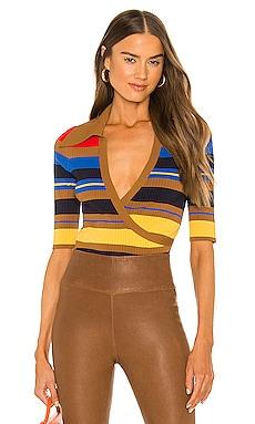 Jillian Rib Knit Bodysuit NICHOLAS $245