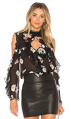 x REVOLVE Cold Shoulder Blouse