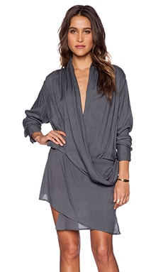 Nicholas K Kiowa Dress in Charcoal