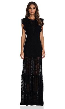 Nightcap Caletto Maxi Dress in Black