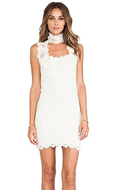 Nightcap Florence Lace Chapel Dress in Ivory