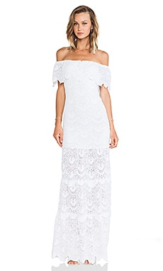 Nightcap Positano Maxi Dress in White
