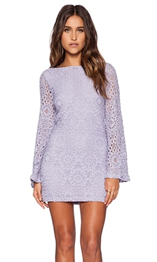 Nightcap Cherry Blossom Priscilla Dress in LIlac