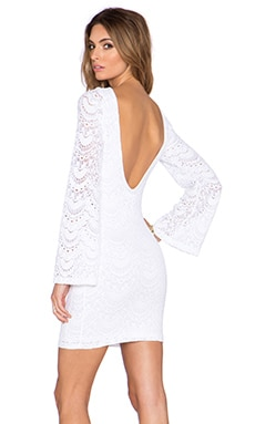 Nightcap Spanish Priscilla Dress in White