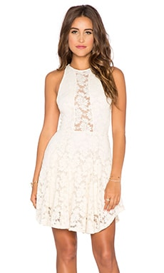Nightcap Tea Time Dress in Ivory