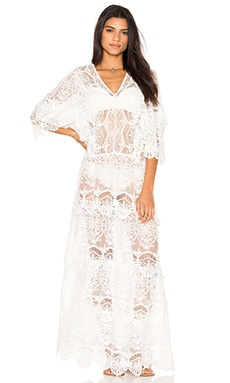 Nightcap Seashell Siren Gown in White