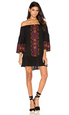 Nightcap Santorini Dress in Black