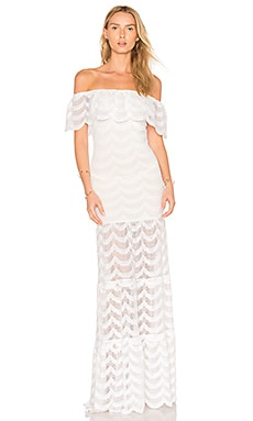 Fiesta Positano Maxi Dress in Dove