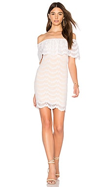 Bachelorette Mini Dress in Dove