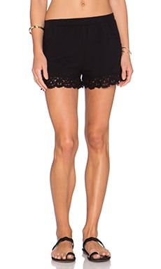 Nightcap Penny Pocket Short in Black