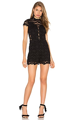 Nightcap Marais Romper in Black