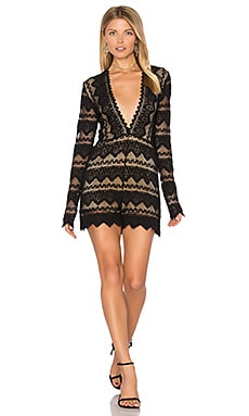 Plunging V Sierra Romper in Black