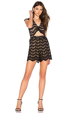 Mariposa Cutout Playsuit