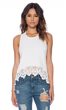 Nightcap Hanalei Top in White