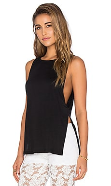Nightcap Side Knot Tank in Black
