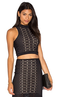 Spiral Lace Crop Top