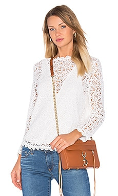 Nightcap Petite Cheri Top in Ivory