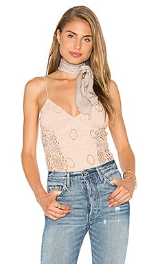 Nightcap Cherry Blossom Bodysuit in Nude