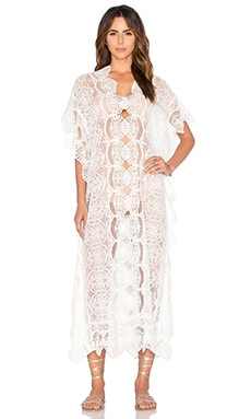 Seashell Lace Caftan
