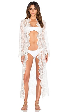 Seashell Lace Robe