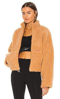 NSW Swoosh Sherpa Jacket Nike $110 NEW
