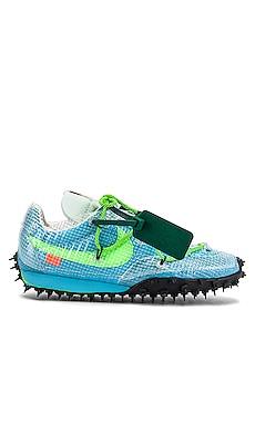 X OFF-WHITE Waffle Racer Sneaker Nike $150