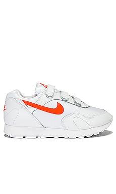 Кроссовки outburst v - Nike, Белый, Короткие