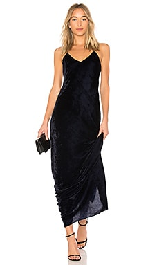 Sasha Velvet Slip Dress