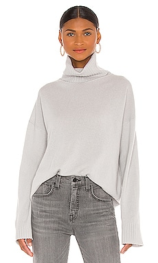 Turtleneck Boyfriend Sweater NILI LOTAN $595