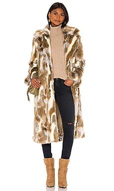 Faux Fur Simon Coat NILI LOTAN $882