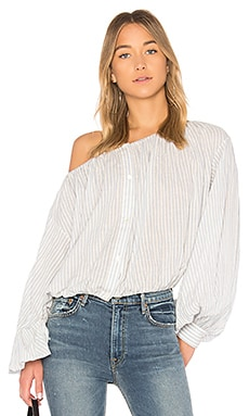 Блуза с открытыми плечами roxie - NILI LOTAN