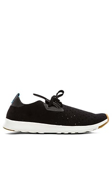 Native Apollo Moc in Jiffy Black Shell White