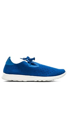 Native Apollo Moc in Victoria Blue Shell White Rubber