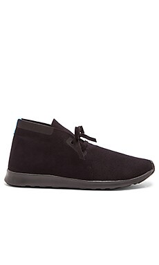 Native Apollo Chukka in Jiffy Black Jiffy Black