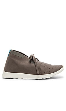 Native Apollo Chukka in Dublin Grey Shell White Shell White