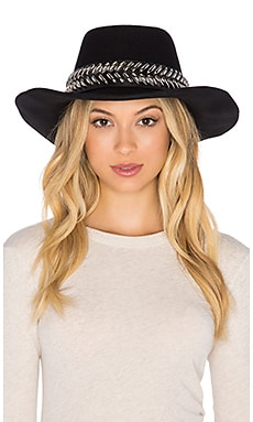 Nightwalker Lucky Strike Hat in Black