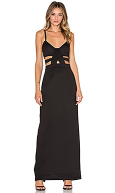 Nightwalker Shera Maxi Dress in Black