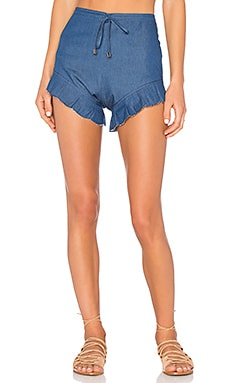Nightwalker Bloomer Shorts in Dark Blue