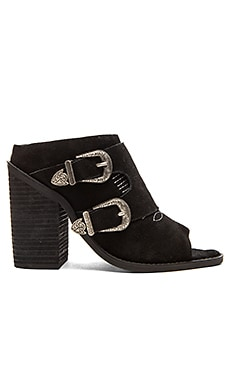 Nightwalker Blind Mule in Black Suede