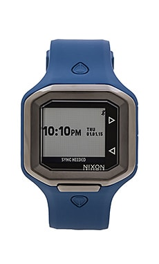 Nixon Ultratide in Blue & Gunmetal