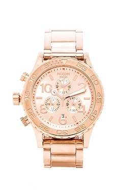The 42-20 Chrono em All Rose Gold