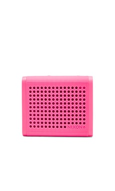 Nixon The Mini Blaster Speaker in Magenta