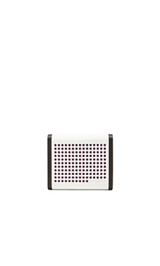 Nixon The Mini Blaster Speaker in White & Purple