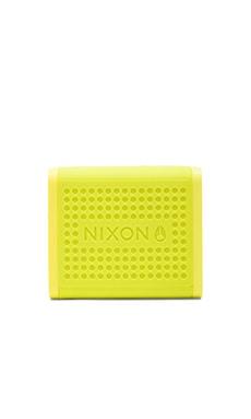 Nixon The Mini Blaster Speaker in Neon Green