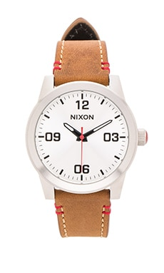 Nixon The G.I. Leather in Saddle