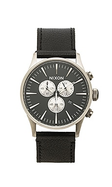 MONTRE SENTRY CHRONO LEATHER