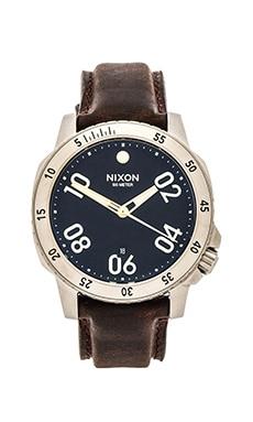 Nixon The Ranger Leather in Black & Brown