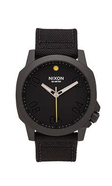 Nixon The Ranger 45 Nylon in All Black