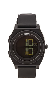 Nixon The Time Teller Digi in All Black
