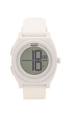 Nixon The Time Teller Digi in White
